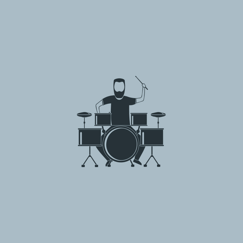 DRUM Kids 5Pz Black