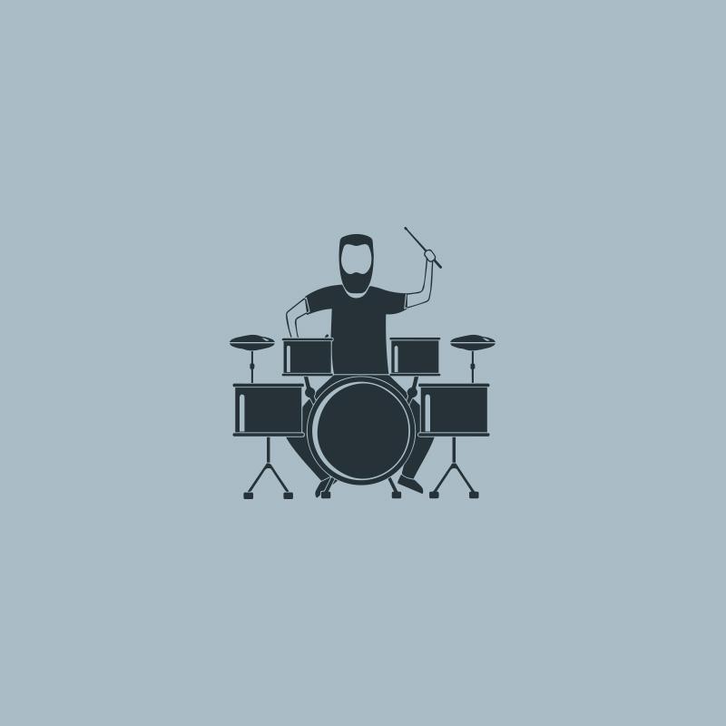 """LP264A pelle bongo 8 5/8"""""""